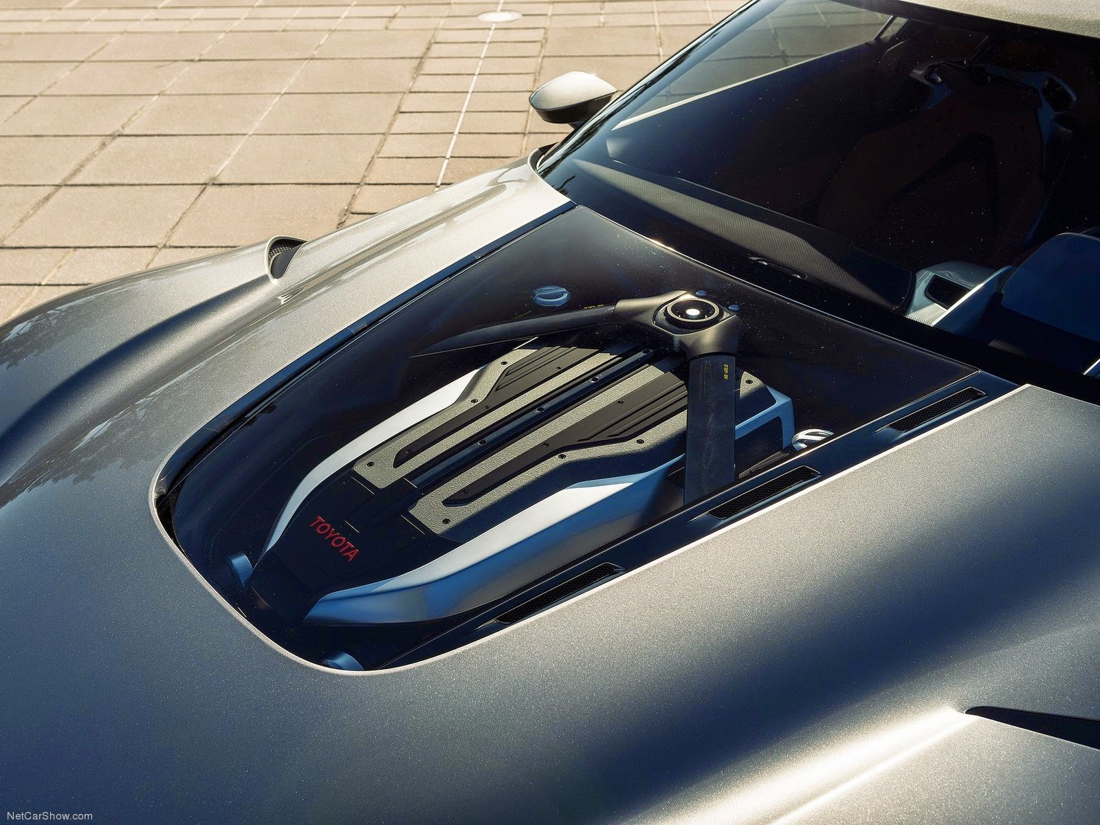 Mechanical Symphony: Toyota FT-1 @ Monterey 2014 (NetCarShow.com)