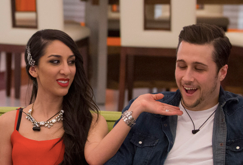 Big Brother Canada 2 Jon and Neda