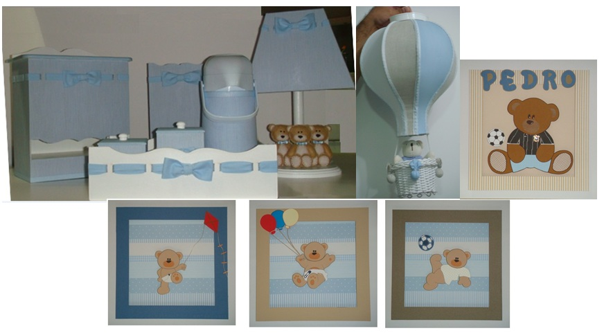 Tati Arteira Decoração de quarto de bebê  ursinhos