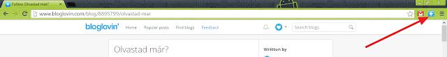 A bloglovinos kiegészítő Chrome-ban