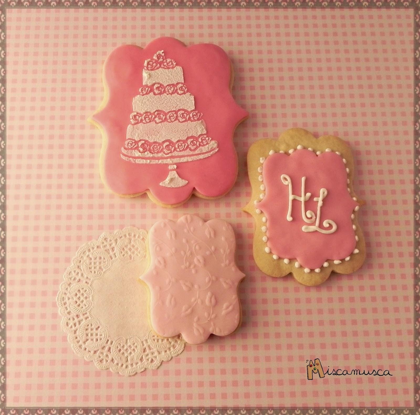 Conjunto galletas boda