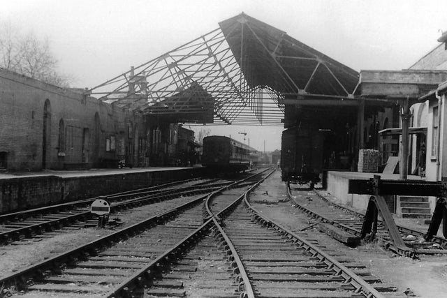 Gosport station  in the late 1950s