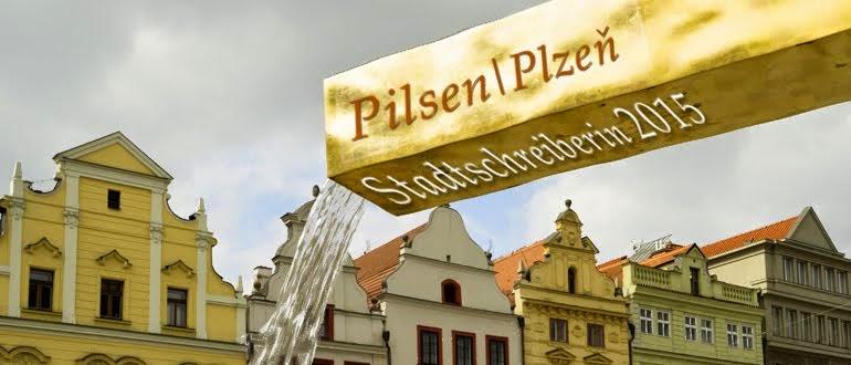 Stadtschreiberin Pilsen/Plzeň 2015
