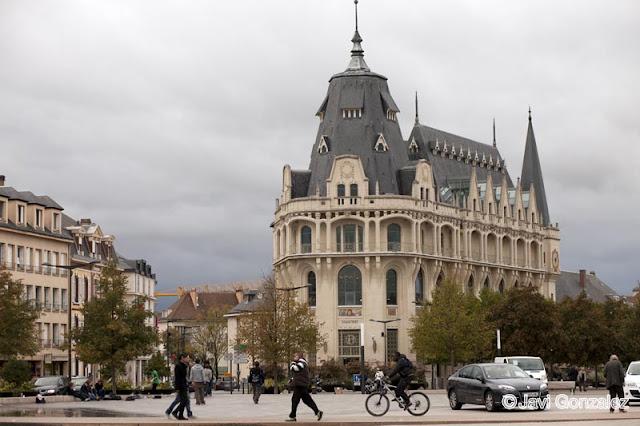 viaje en caravana, Chartres, Francia,