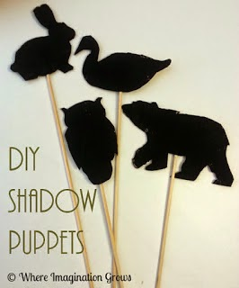 DIY Shadow Puppets