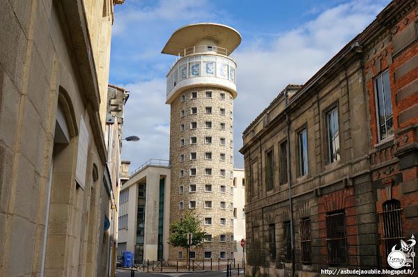 Bordeaux - Maison de la radio et de la télévision, Tour ORTF  Architecte: Jacques Carlu  Construction: 1955