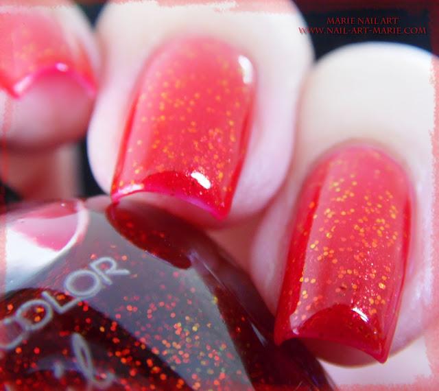 kleancolor chunky holo scarlet4
