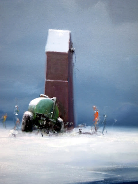 Detalje fra 'En vinter lang' - Poul Anker Bech
