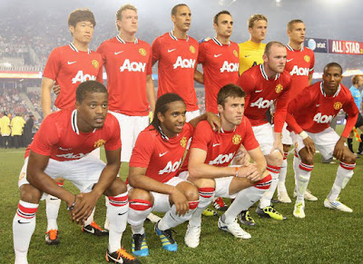 Manchester United Squad face MLS All-Stars Tour USA