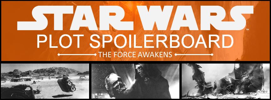 Star Wars: The Force Awakens Plot Spoilers Board