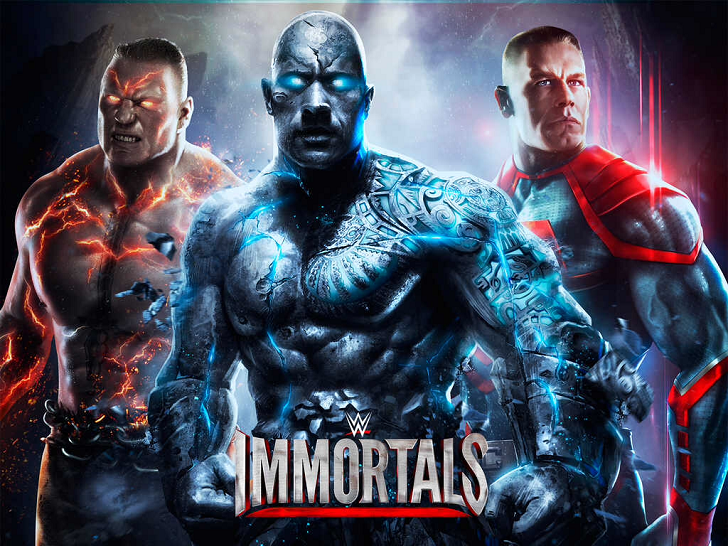 WWE Immortals Free App Game By Warner Bros.