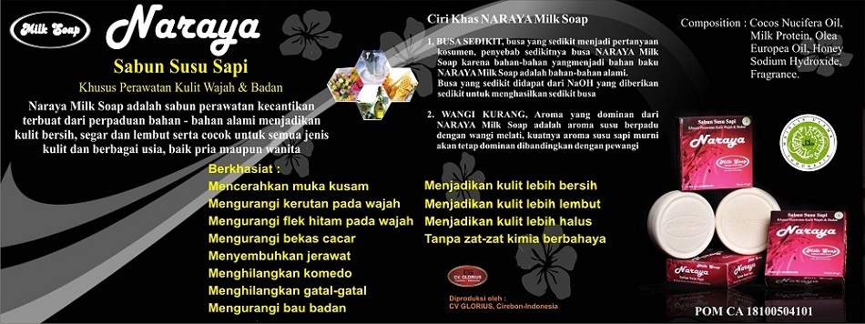 NARAYA  Milk Soap