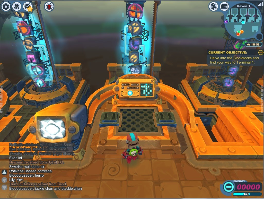 Spiral Knights Morg online no seu Ubuntu