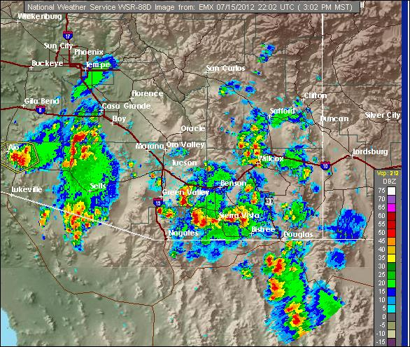 Madweather Big Storms In Metro Tucson