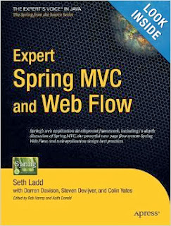 Good books to learn Spring MVC