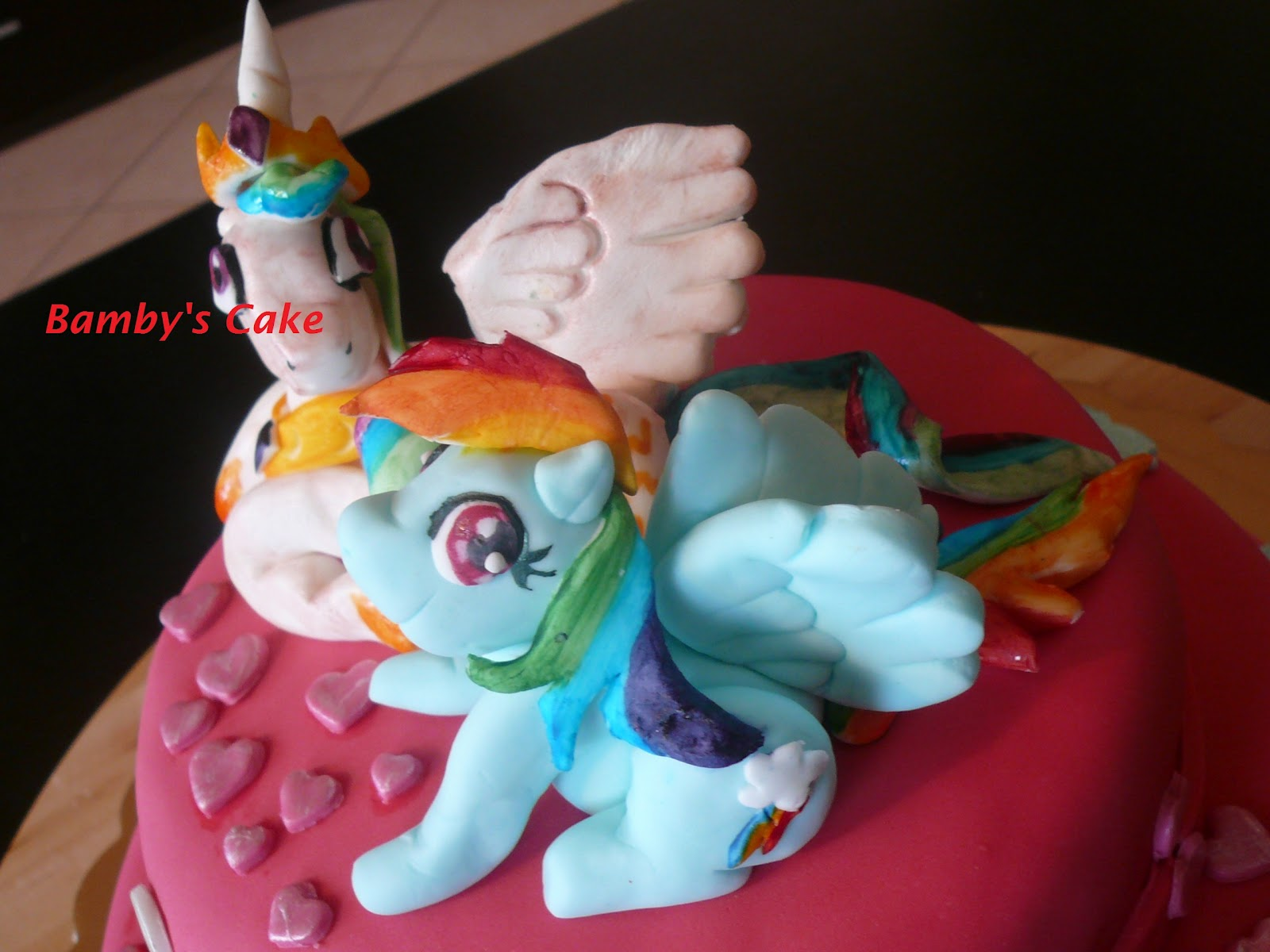 Cartoonito Cake Design : Pin Torta Cake My Little Pony Princess Celestia Rarity ...