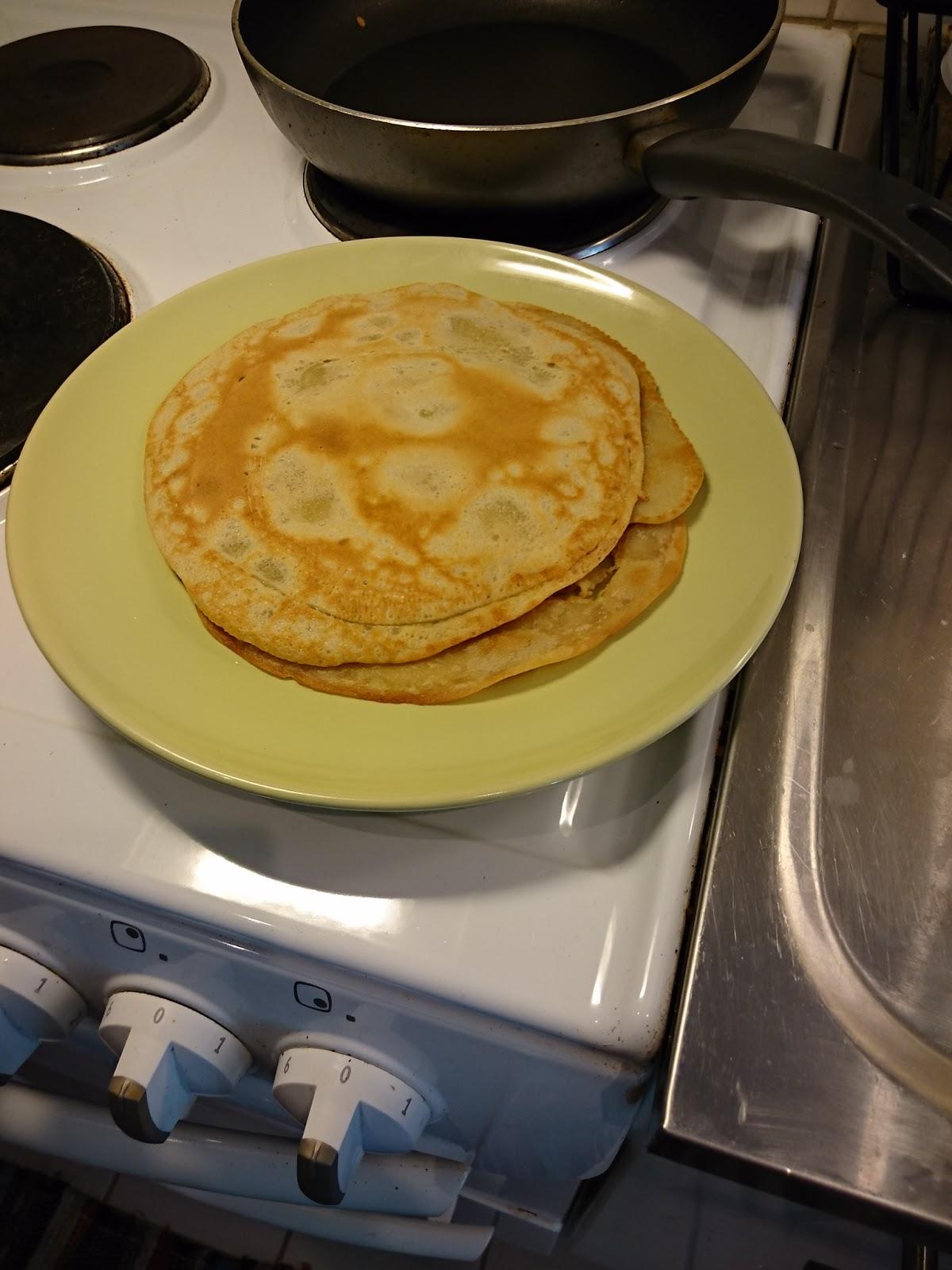 pannkakor no egg