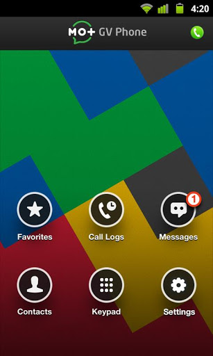 Phone for Google Voice and GTalk