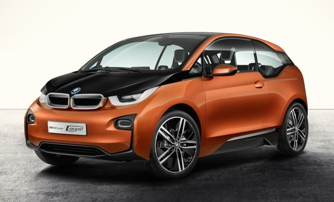 BMW i3 Concept Coupe front side view