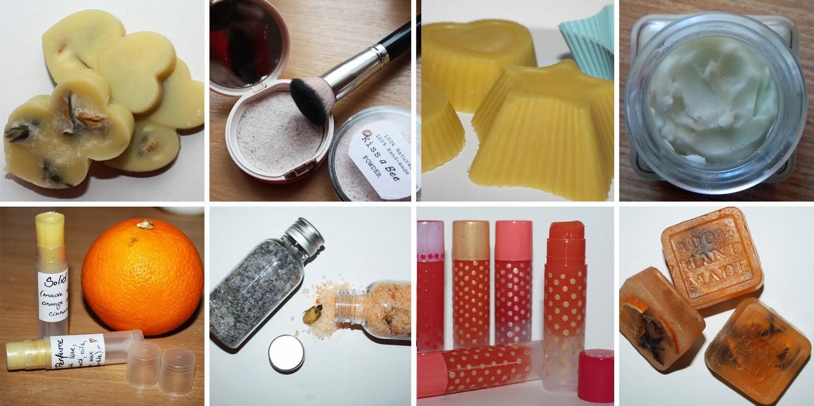Návody na domácí kosmetiku - přehled, rozcestník