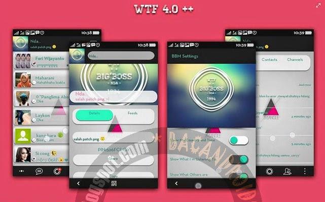 Download BBM Dual Mod Terbaru 2.6 Apk WTF+