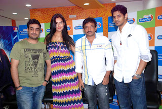 Ram Gopal Verma and Nathalia Kaur