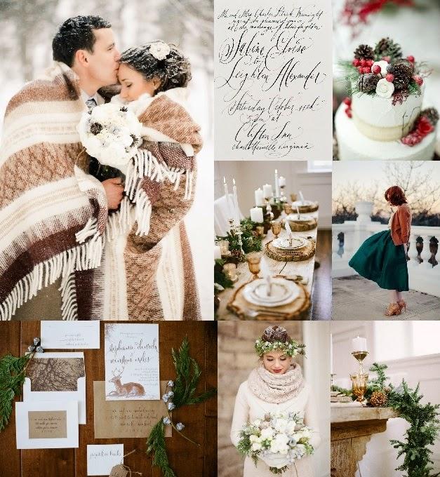 Svatby Barvy Kolaze Kolaz 442 Zimni Svatba