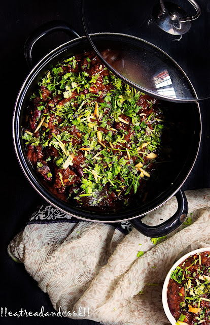 rajma and soya keema curry recipe