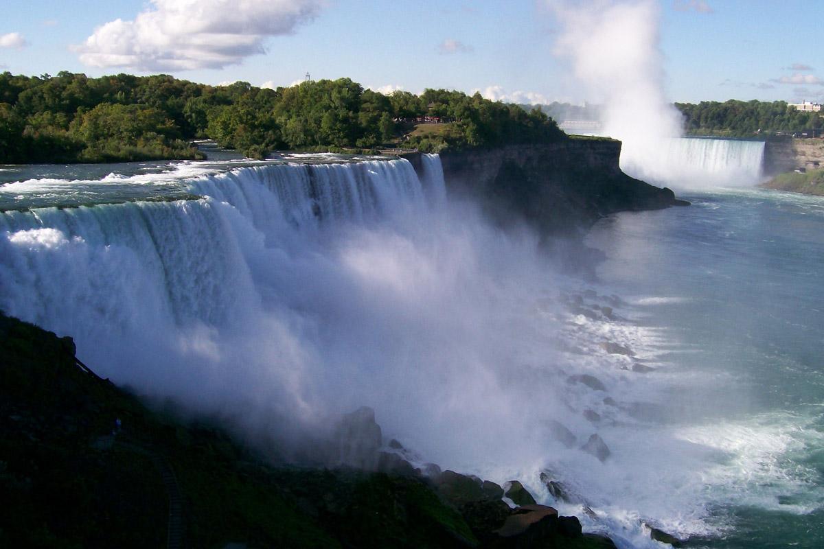 Для рабочего стола ниагарский водопад