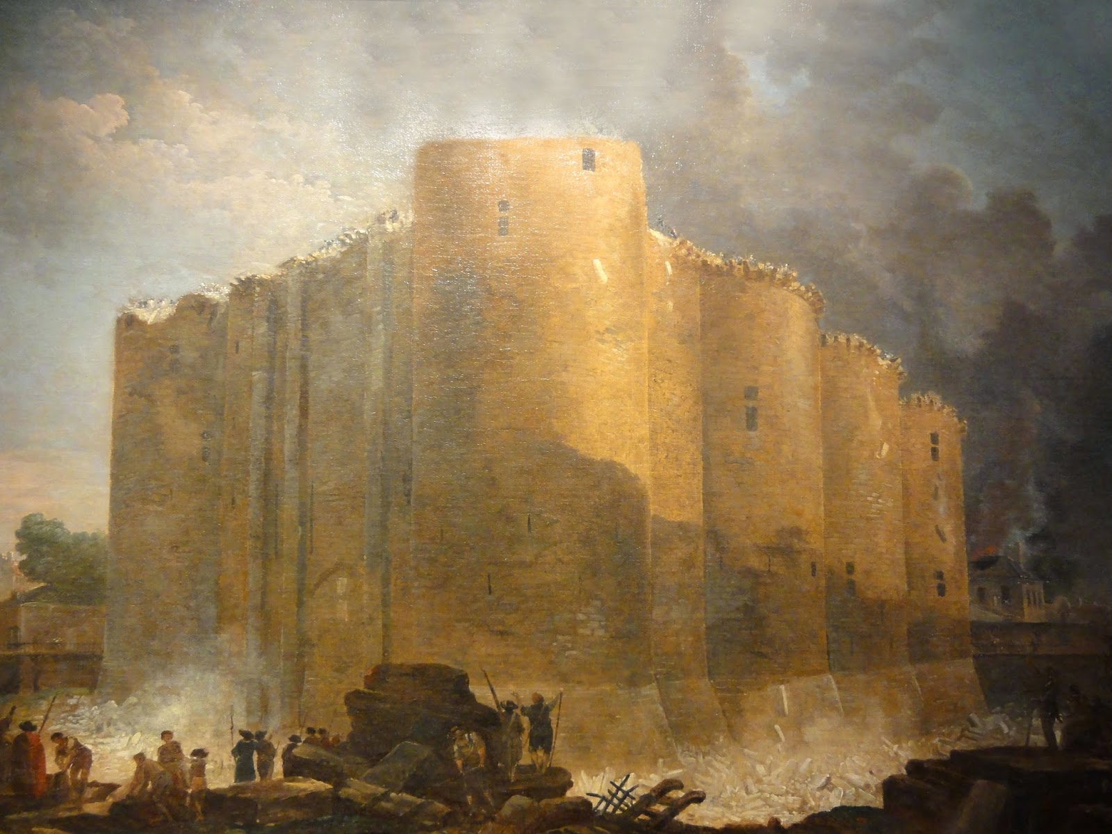 a history of the destruction of the bastille The storming of the bastille: the history and legacy of the most famous flashpoint of the french revolution: charles river editors: 9781505607048: books - amazonca.