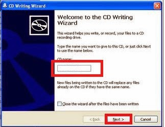 Cara Burning File Dokumen, mp3, video ke CD/DVD Tanpa Software