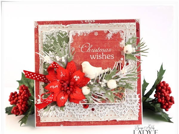 2 Kartki Świąteczne i Kurs Video / 2 Christmas Cards & Video Tutorial
