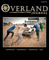 New Mexico Backroads featured in Spring 2014 Issue of Overland Journal