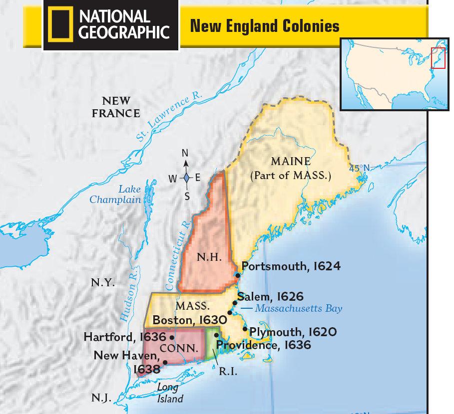 Mr. Ramirez's History Blog: New England Colonies