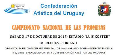Pista - Campeonato nacional de las promesas (Mercedes, Soriano, 17/oct/2015)