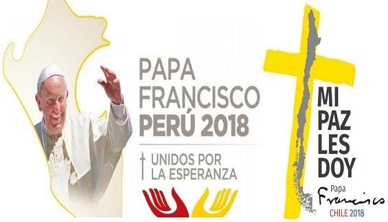 VIAJE PAPA FRANCISCO A CHILE Y PERÚ 2018