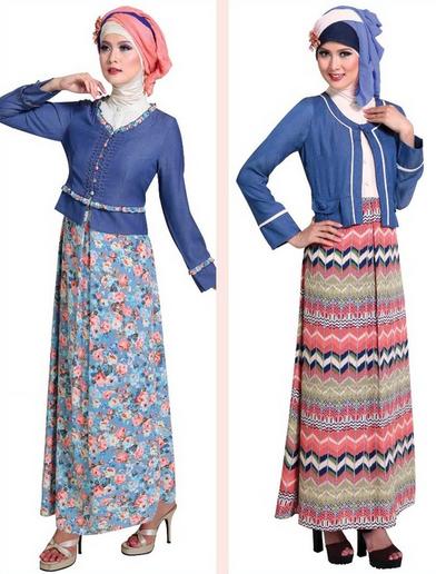 Foto Baju Muslim Gamis 2015