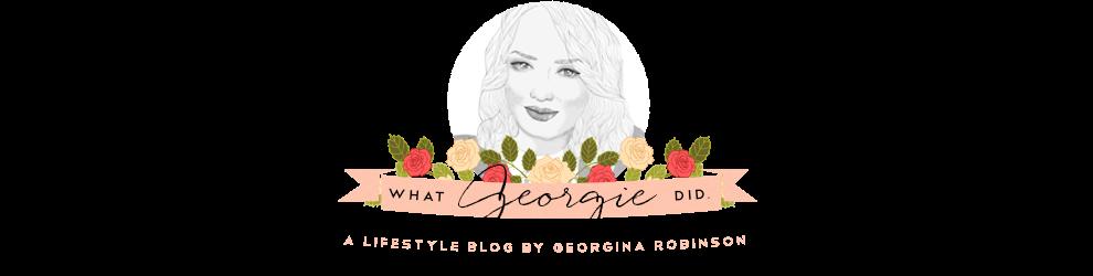 WHAT GEORGIE DID