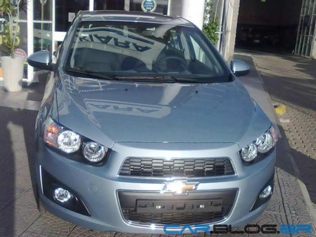 Chevrolet Sonic 2013- frente