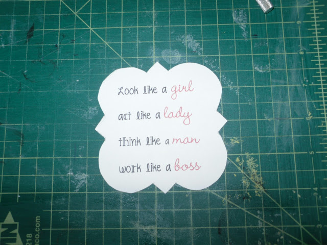 Cut out quote