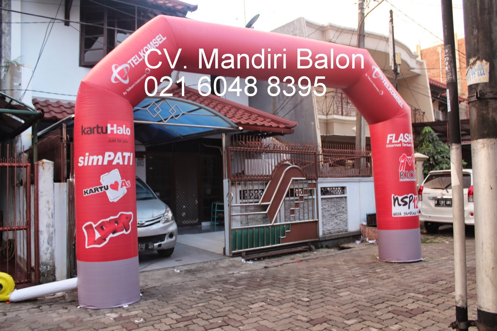 GATE BALON TELKOMSEL PAPUA