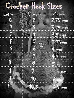 crochet hook conversion chart pdf