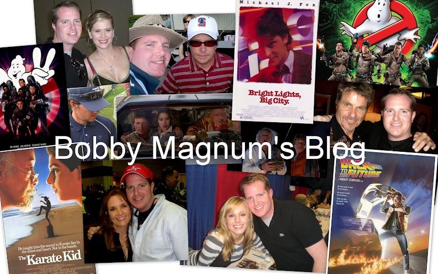 Bobby Magnum's Blog