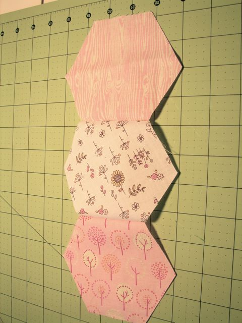 tallgrass prairie studio: Sewing Hexagons by Machine Without Marking : quilting without a sewing machine - Adamdwight.com