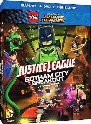 Filme Poster LEGO: Liga da Justiça – Fuga em Massa em Gotham City