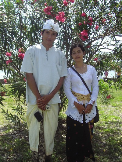 Balinese dress to wear for ceremony
