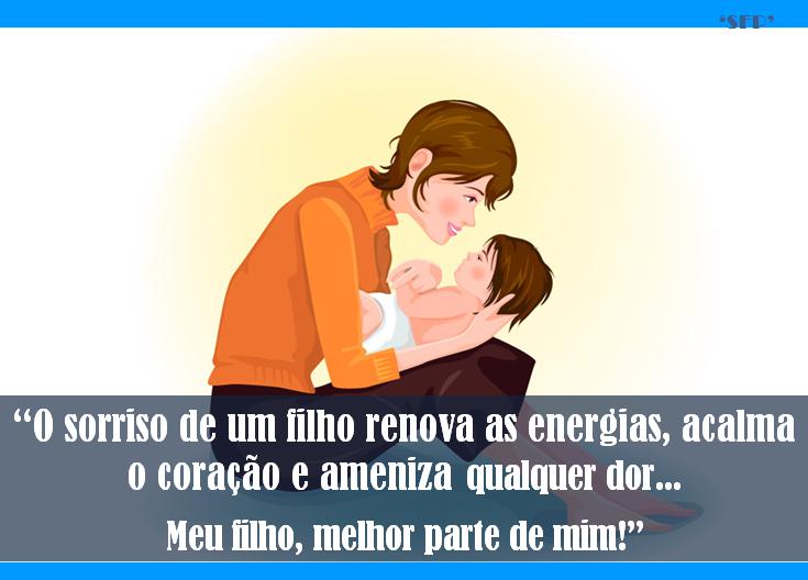 Sfp Só Frase Perfeita O Sorriso De Um Filho Renova As Energias