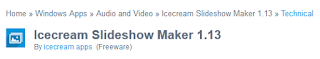 Download Icecream Slideshow Maker 1.13 Offline Installer