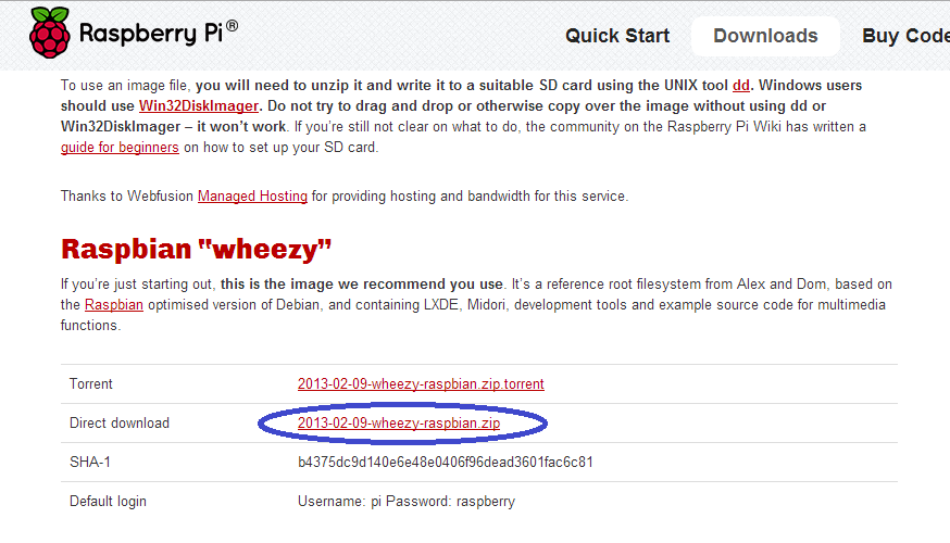 Raspberry pi raspbian wheezy download