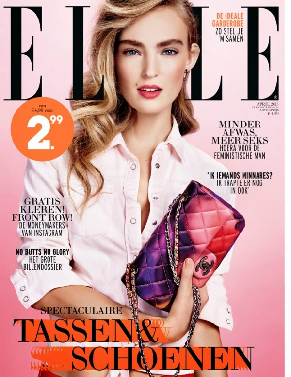Fashion Model @ Ymre Stiekema by Carmen Kemmink for Elle Netherlands April 2015